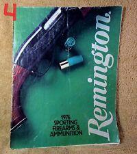 Vintage 1976 Remington Gun Catalog