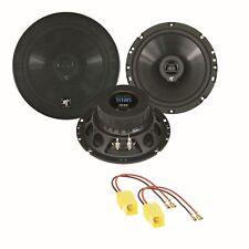 HIFONICS TS-62 Lautsprecher Boxen Einbauset für Ducato Jumper Boxer Typ 244