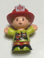 Fisher Price Little People Firefighter Girl Woman First Responder 2016