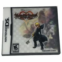 Kingdom Hearts 358/2 Days (Nintendo DS, 2009) Complete w/Manual Sleeve Inserts