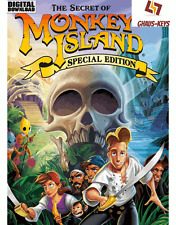 The Secret of Monkey Island Special Edition Steam Download Key [FR] [UE] PC