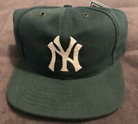 NWT Vintage American Needle New York Yankees Cooperstown Hat Cap Fitted  7 1/8