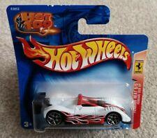 Unopened Boxed Hot Wheels Ferrari 333 SP Heat White & Red