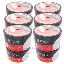 600 HP 16x Blank White Inkjet Printable DVD-R DVDR Recordable Disc Media 4.7GB