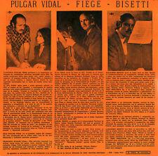 MUSICA From PERU Pulgar Vidal, Bisetti, Fiege PIANO VIOLIN Ultra Rare LP Private