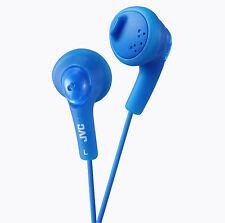 JVC GUMY GUMMY Blue HAF-160 Earphones Headphones Earbuds iPod iPhone iPad MP3