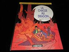 Parcelier : La malédiction des sept boules vertes 4 La chasse aux dragon EO 1990
