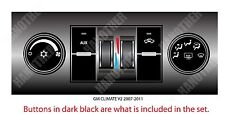 GRD607 2007 CHEVROLET TAHOE CLIMATE CONTROL HVAC ASSEMBLY REAR 15109353 STICKER
