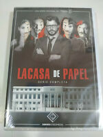 La Casa de Carta Serie Completa - 5 X DVD Spagnolo Inglese Regione All - Nuovo