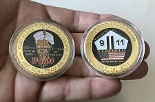NAVY SEALS SEAL TEAM 6 SIX OSAMA BIN LADEN 911 CHALLENGE COIN NO CPO MESS NYPD !