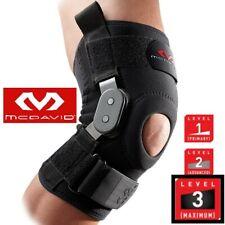 McDavid MD 429 Knee Brace Support w/ Polycentric Hinges Black Level 3 Maximum