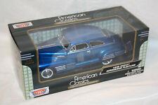 Chevrolet '48 Aerosedan Fleetline, blue - blau - 1:24 - Motor Max