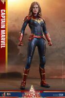 Hot Toys MMS521Captain Marvel Brie Larson LED Eyes Helmet 1/6 Figure Model