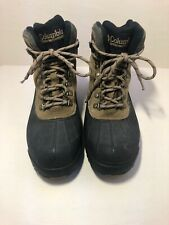 Columbia Mens Cascadian Summit Brown & Black Thermolite Winter Snow Boots  10