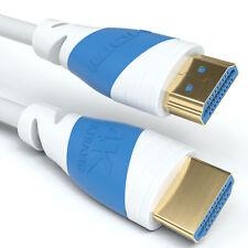 4m HDMI Kabel 2.0 Weiß   4K U-HD High Speed 3D Ethernet   Für TV PS4 Xbox Beamer