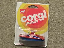 Corgi Junior Die-Cast Fire Launch Boat 1:64 Scale MOC 1976
