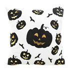 Halloween Pumpkin Pillow Cases Waist Throw Cushion Covers Sofa Home Decors Deco