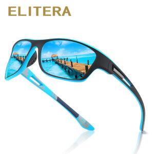 ELITERA Polarized Sunglasses Men Classic Square Driving Sport Sun Glasses Male