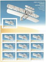 SCOTT 3783 37 CENT POWERED FLIGHT MINIATURE SHEET OF 10 MNH