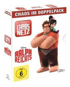 Chaos im Netz + Ralph reichts [2 Blu-ray's/NEU/OVP] Walt Disney