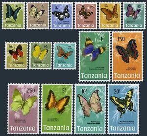 Tanzania 35-49,MNH.Michel 35-49. Butterflies 1973