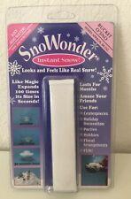 SnoWonder Bucket O' Sno Instant Snow! Makes Approx. 80oz
