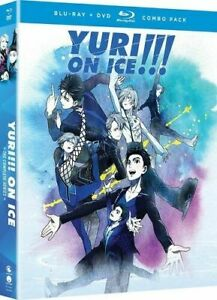 (Blu-ray) YURI ON ICE: The Complete Series (BD/DVD 2018 slipcover) FUNimation