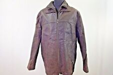 """Canada by C&A Vintage Quilted Lined Coat Mens Jacket 52 46"""" Brown GRADE B W907"""