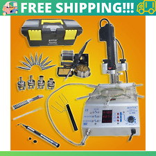 866 Smd Digital Hot Air Rework Station With Built In Pre Heater