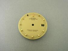 Rolex Oyster Perpetual Date Gold Zifferblatt beige Ref. 15238 dial Tritium