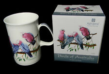 Australian Souvenir Galah Cockatoo Birds Fine Bone China Mug Cup Box Included