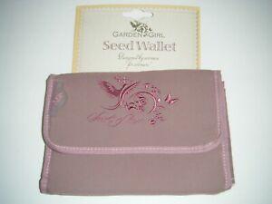 Garden Girl Womens Gardening Seed Wallet