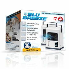 Blu Breeze Personal Portable Air Conditioner As Seen On TV *2 Pack* - New