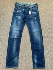 BNWT Diesel Belther 084MX Regular Slim Tapered Mens Denim Jeans | 28W 32L