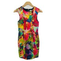 Talulah Womens Dress Size Small (AU 6-8) Floral Multicoloured Summer Cocktail