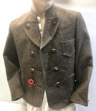 ☛ Beautiful Brown Embroidered Miesbacher Traditional Jacket By Ganter Gr.44 New