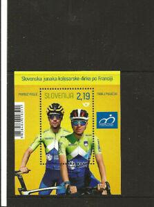 Slowenien , 2020 Tour de France - Primoz Roglic, Tadej Pogacar, Block 129**