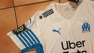 Maillot Puma GUENDOUZI 6 Olympique de Marseille OM taille XL Ligue 1