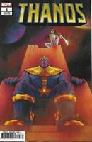 Thanos Comic 2 Cover B Variant First Print 2019 Tini Howard Marvel