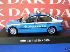 Die cast 1/43 Modellino Auto Polizia Police BMW 320 I Activa 2000