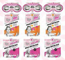 9 Soap & Glory Puffy Eye Attack, Bright & Beautiful & Miracle Moisture Mask