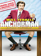 Anchorman: The Legend of Ron Burgundy (DVD, 2004, Extended Edition - Full Frame)