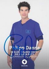 ARD Autogrammkarte Philipp Danne In aller Freundschaft Die jungen Ärzte ZDF NDR