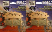 EBC HH Front Brake Pads (2 Sets) 2011-14 SUZUKI GSXR 600 GSXR750 (R&L) FA447HH