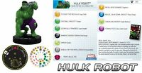 HULK ROBOT #006 #6 The Incredible Hulk HeroClix
