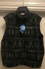 Authentic Columbia Sportswear Company Steens Mountain Fleece Vest Supreme XL