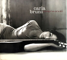 Carla Bruni CD Quelqu'Un M'A Dit - Digipak - Germany (EX/VG+)