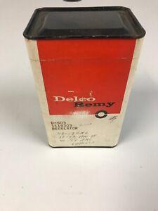 1940-1952 Chevrolet Car And Truck Voltage Regulator (NOS Delco)