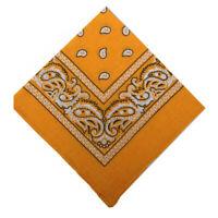 Bandeau Enveloppement De Cheveux Bandana En Coton Polyester Écharpe Envelop A1H4
