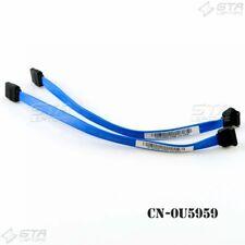 """Lot of 2 Dell U5959 8"""" Sata Cable for Optiplex DT 320 380 745 755 545 CN-0U5959"""